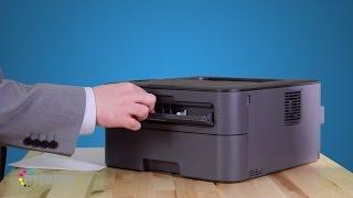 EPSON LQ-310 Dot Matrix Printer (Self Test) - hmong video