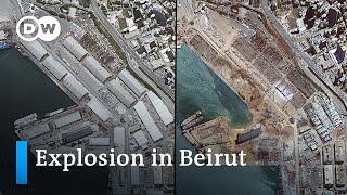 Wie verheerend war die Explosion in Beirut? | DW Nachrichten