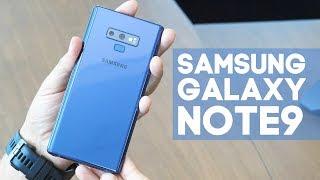 Samsung Galaxy Note9 - первый взгляд!