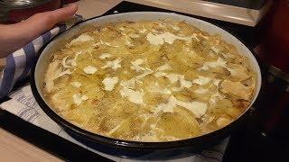 Krompir Dilja / Scalloped Potatoes [engl.sub]