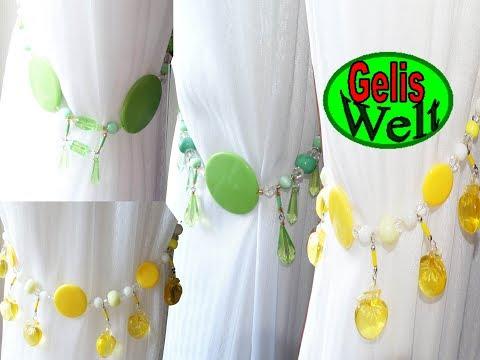 DIY Raffhalter aus Perlen selber machen; Werbung