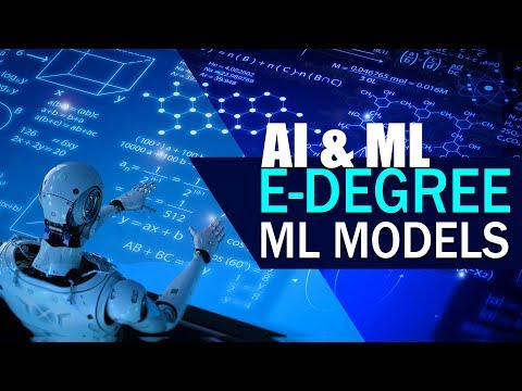 AI \u0026 ML E-Degree:Sneak Peek | ML Models in Python | Eduonix | Kickstarter