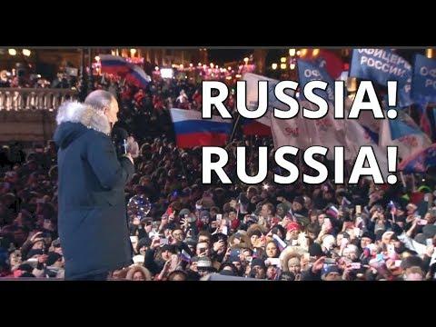 Putin suverénně zvítězil v prezidentských volbách. Vládnout bude až do roku 2024