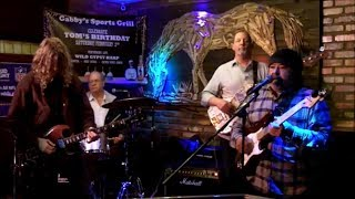 "Manny Penunuri & Connor Kelly ~ ""Cold, Cold Feeling"" @ Gabby's Bar & Grill Blues Jam - 1/30/2019"