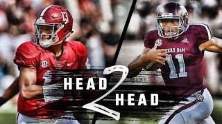 Head to Head:  Alabama vs. Texas A&M