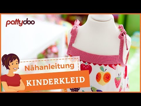 Kinderkleid nähen mit kostenlosem Schnittmuster
