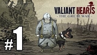 Valiant Hearts: The Great War Walkthrough PART 1 (PS4) [1080p] Lets Play Gameplay TRUE-HD QUALITY