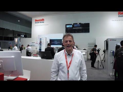 EMO 2017: Bosch Rexroth Booth Tour