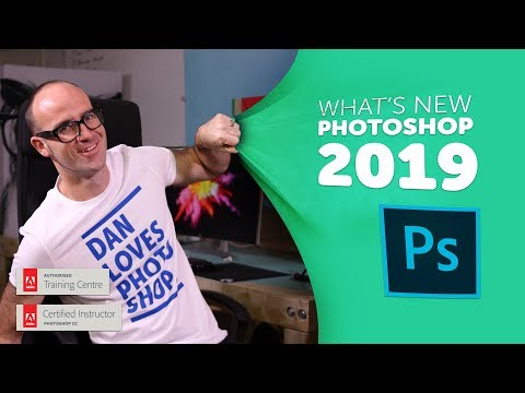 Adobe Photoshop CC 2019 New Features!