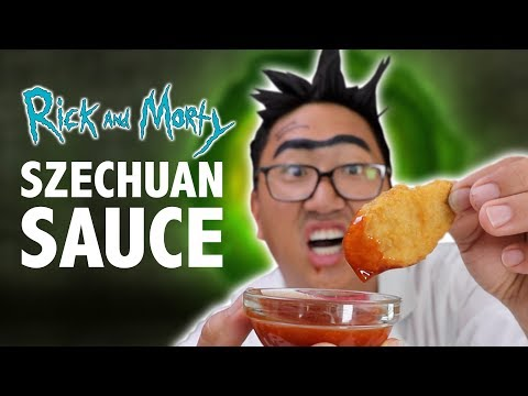RICK AND MORTY:  SZECHUAN SAUCE RECIPE