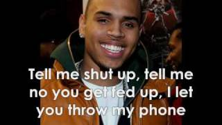 Chris Brown - Talk That Shit