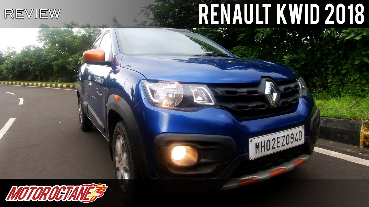 Motoroctane Youtube Video - Renault Kwid 2018 - Kya naya hai isme? | Hindi | MotorOctane
