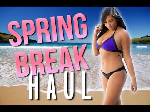Spring Break Try On Haul