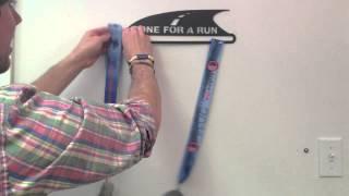 Running Medal Hanger - How To Hang A GoneForaRUN Medal Display
