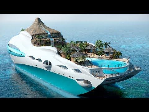 दुनिया की 5 सबसे महंगी नाव ( 100 करोड़ की  नाव ) 5 Future Concept Boats YOU MUST SEE