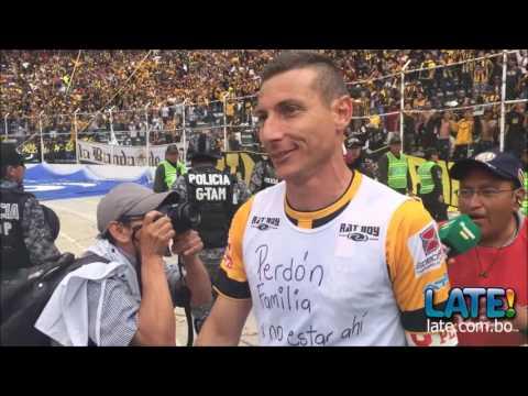 """Tigre campeon Apertura 2016"" Barra: La Gloriosa Ultra Sur 34 • Club: The Strongest"