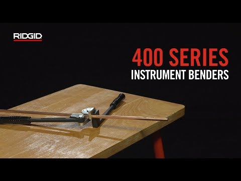 RIDGID 400 Series Instrument Benders