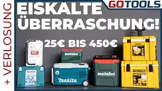 Cool oder Hot!? Wie gut sind die Kühlboxen Eurer Werkzeughersteller? Inklusive Verlosung