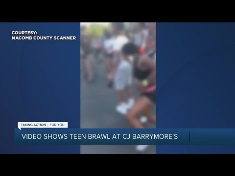 Video shows teen brawl at CJ Barrymore's