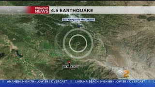Earthquake Rattles Large Area Of Southern California