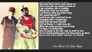 Chris Brown ft. Justin Bieber -- Ladies Love Me  (Lyrics)