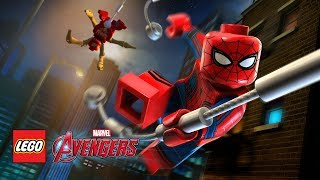 【樂高復仇者聯盟】內戰蜘蛛人返校回歸 & 鋼鐵蜘蛛人 | 自由模式