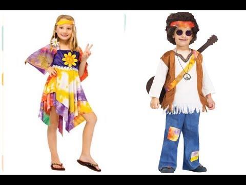 Los mejores Disfraces de los años 60 para niños