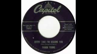 Faron Young - Everytime I'm Kissing You