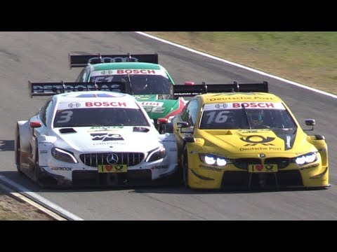 DTM Hockenheim 2018 Season Finale Day 2-Crash,Mistakes,Pit Stops,Flames & More