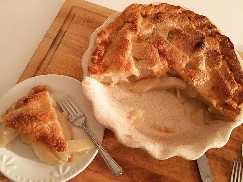 Video Pear Pie: Delicious, Easy and Rustic