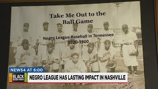 The role that Nashville played in the Negro League