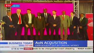 Business Today 13th November 2017 - AoN bought out by Capital works