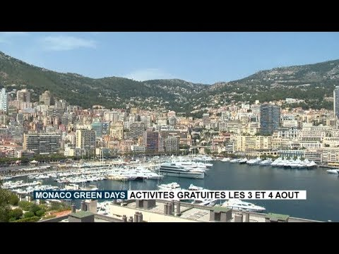 Monaco Green Days: free ctivities on 3 and 4 August