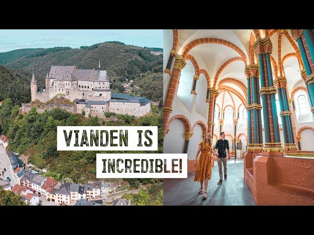 The BEST Reason to Visit LUXEMBOURG! - Exploring Fairytale Castle and City of Vianden 🇱🇺