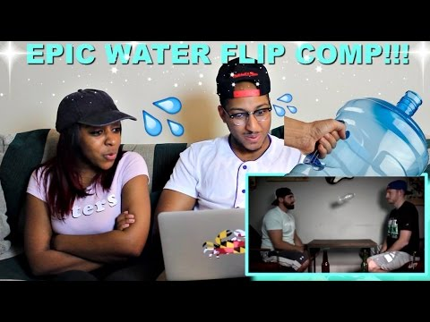 Water Bottle Flip Edition By Dude Perfect Reaction!!