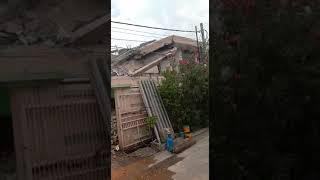 Pembongkaran Rumah Tua Di Jelambar Jakarta Barat