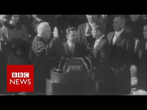 Oath of office  through the ages - BBC News
