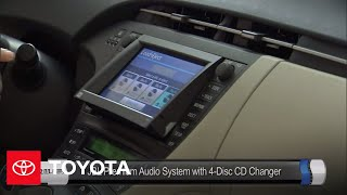 2010 Prius How-To: Audio System   Toyota