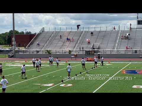 Jacob Baker - Top Prospect Camp 2021 Kickoffs