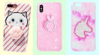 DIY Phone Case Life Hacks 📱 5 Phone DIY Projects & Popsocket Crafts!
