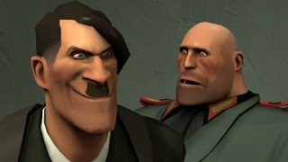 Jodl tries to inform Hitler (SFM)