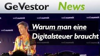 Margrethe Vestager auf Web Summit: Warum es eine Digitalsteuer braucht
