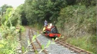 preview picture of video 'launceston steam railway  cornwall  part 1   15/16 aug 2011'