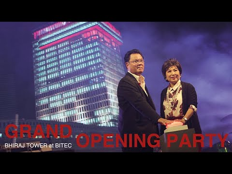 Grand Opening Party at BHIRAJ TOWER at BITEC