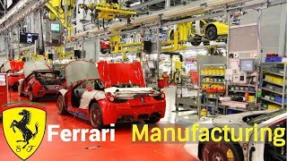 Ferrari Factory -  Assembly line supercars (Production process)