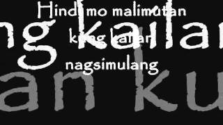 PAG IBIG by Kitchie Nadal (on screen lyrics)
