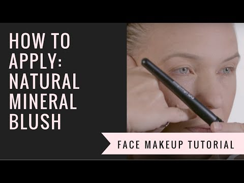 How to Apply Mineral Blush | Afterglow Cosmetics