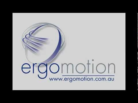 "Electric height adjustable ""sit/stand"" desk by Ergomotion"