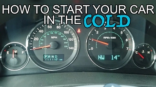How to Start Your Car in the Cold