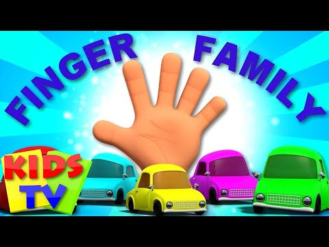 Finger Family Cars | Nursery Rhymes For Children | Cartoons By Kids Tv